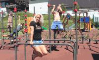 MOM Sport szabadtéri fitneszpálya