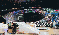 Fotók: Felépült az Eurovízió színpada!