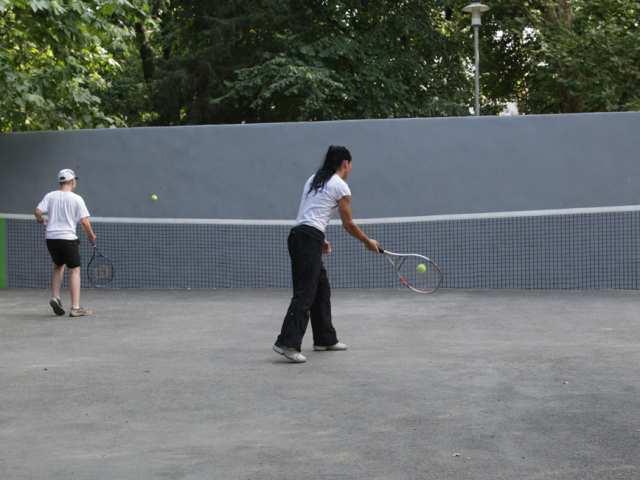 Teniszfal - Városmajori park