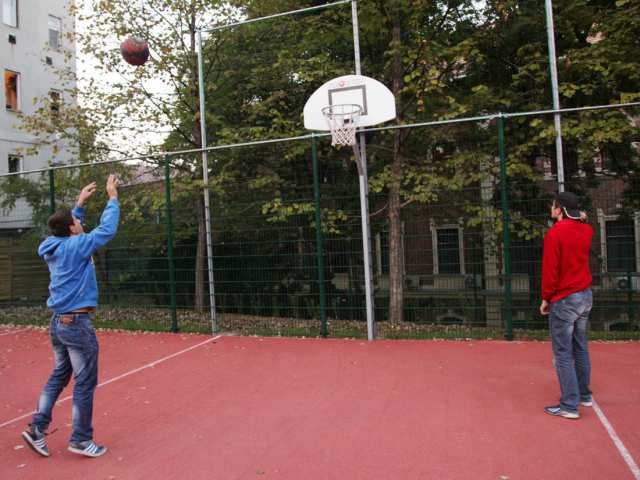 Szabadtéri kosárlabdapályák a Hegyvidéken