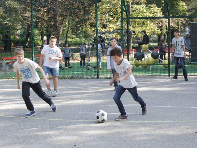 Szabadtéri futballpályák a Hegyvidéken