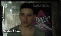 Szabó Ádámot apukája mikrofonozza