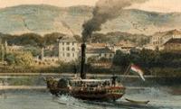Hogy került a gőzhajó a Balatonba?