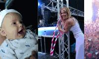 VIDEÓ: Balaton Sound DAL-os babával, Wolf Kati és VOLT
