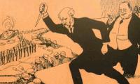 A központi hatalmak vereségét a hátország aknamunkája okozta