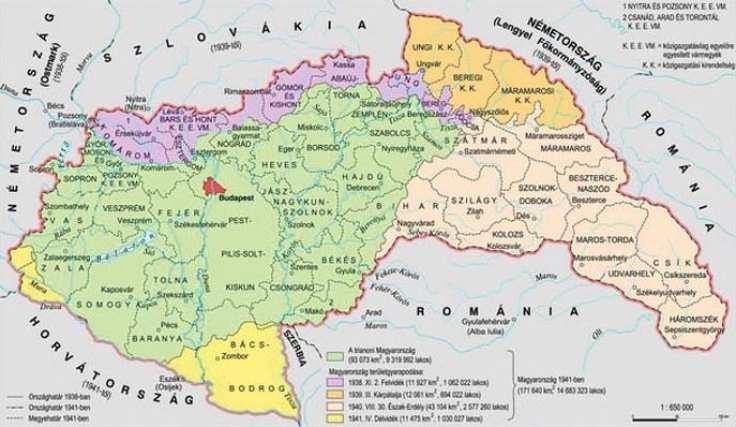 magyarország térkép 1940 Tényleg! Hogy volt, hogy nem volt magyarország térkép 1940